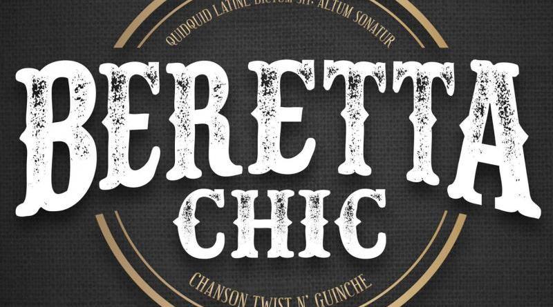 Beretta Chic concert à Salbris 41 au restaurant Les Copains d'Abord