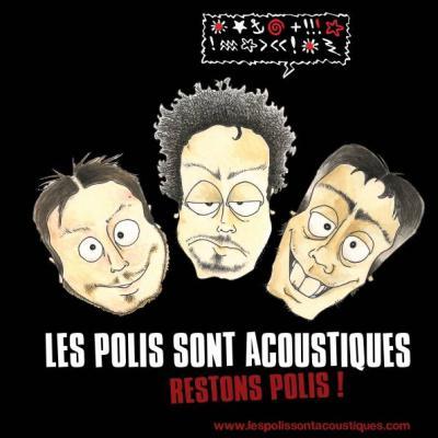 Concert chanson française 41 : Les Polis sont Acoustiques à Salbris en Sologne au restaurant Les Copains d'Abord