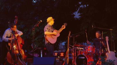 Fredobert en concert à Salbris