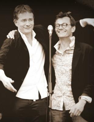 Concert chanson française humoristique à Salbris 41 avec Le Bouffon et sa Clochette