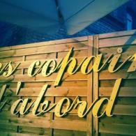 Terrasse du restaurant les Copains d'Abord à Salbris en Sologne