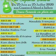 Concerts en plein air aux Copains d'Abord