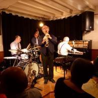 Soirée jazz au restaurant de Salbris les Copains d'Abord avec Mainstream Jazz Quartet